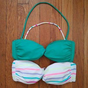 Victoria's Secret Bandeau Bikini Tops